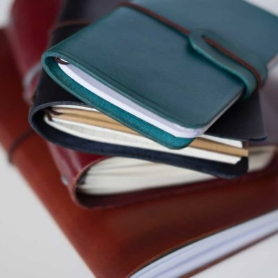 DIY Leather Notebook Covers