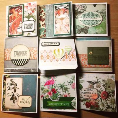 Scrapbooking and Card-making