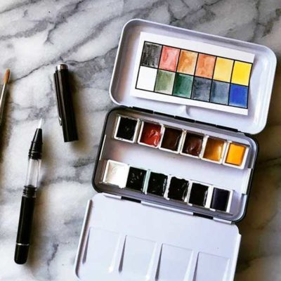 Watercolour Paint — DIY Palette