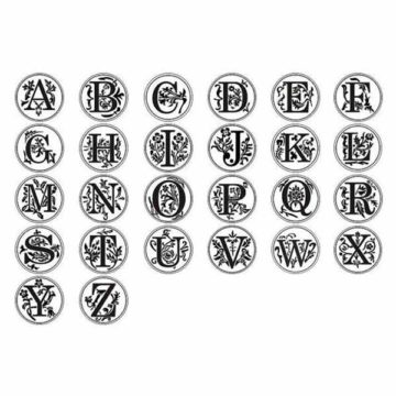 silver monogram casts